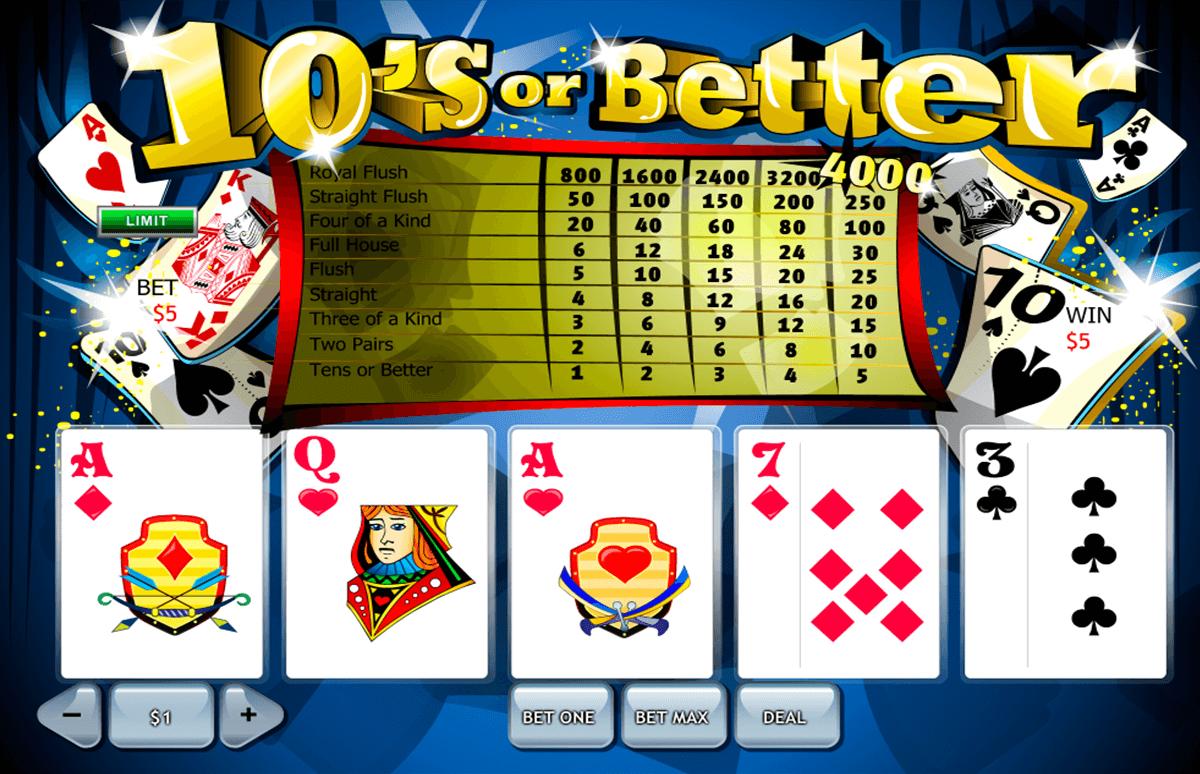 10s or better playtech
