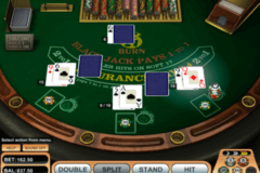 burn blackjack betsoft