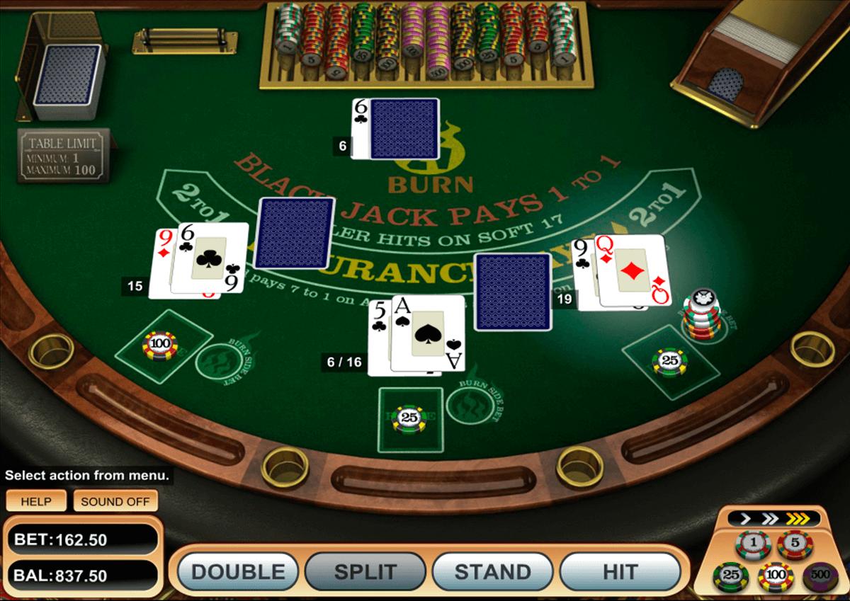 21 burn blackjack betsoft