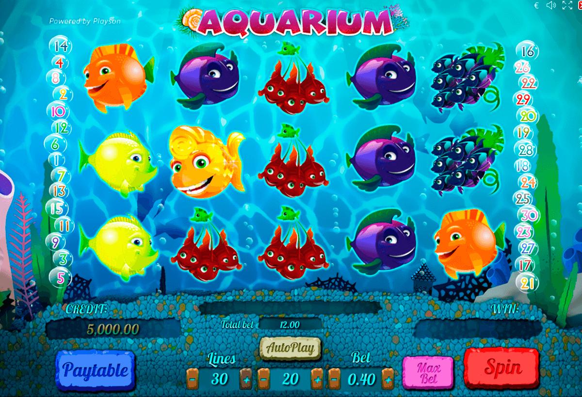 aquarium playson
