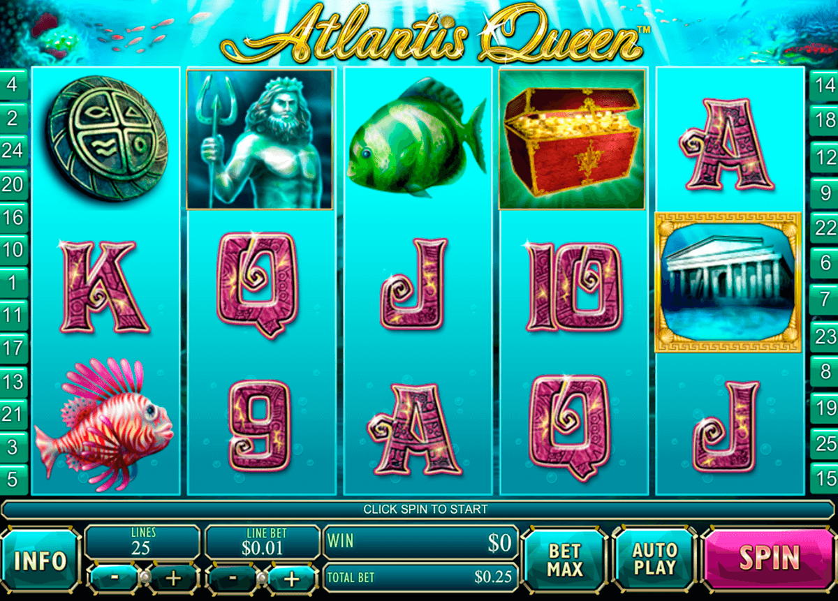 atlantis queen playtech