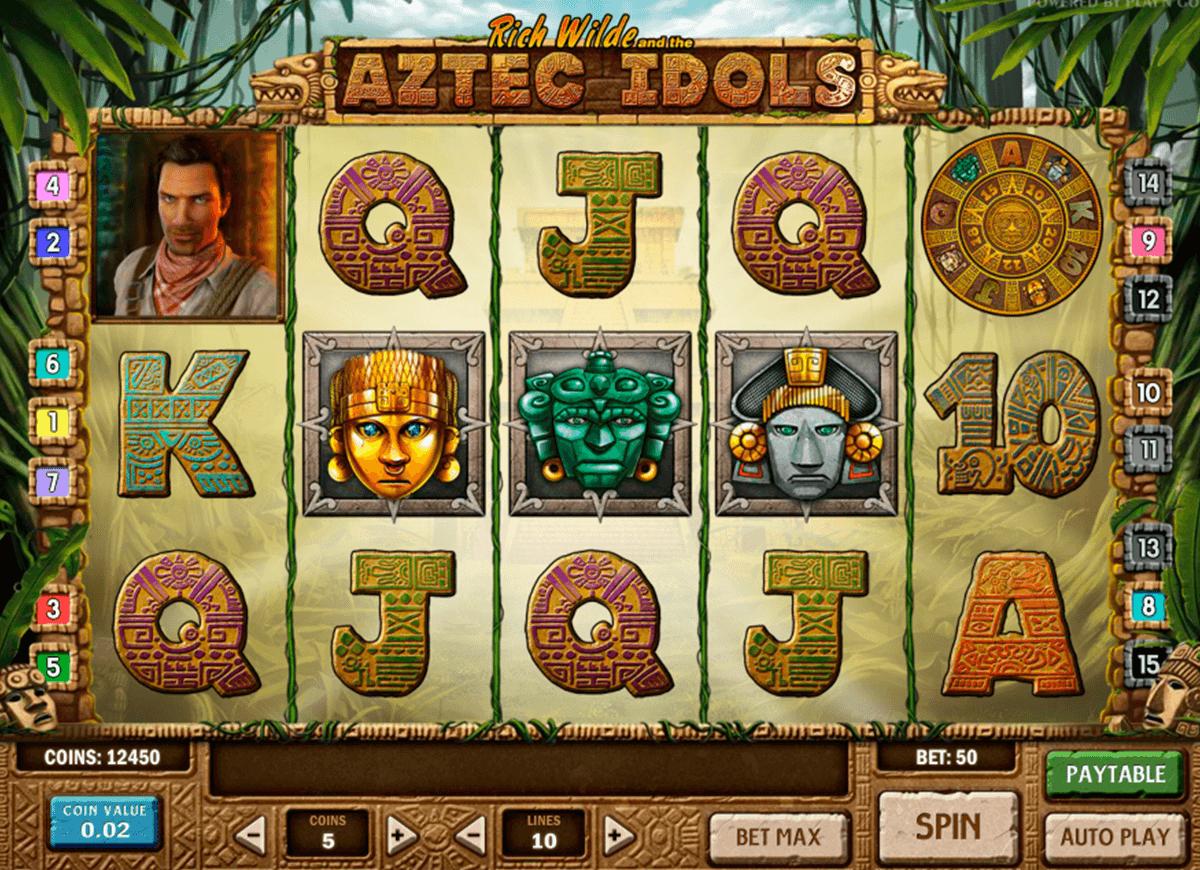 aztec idols playn go