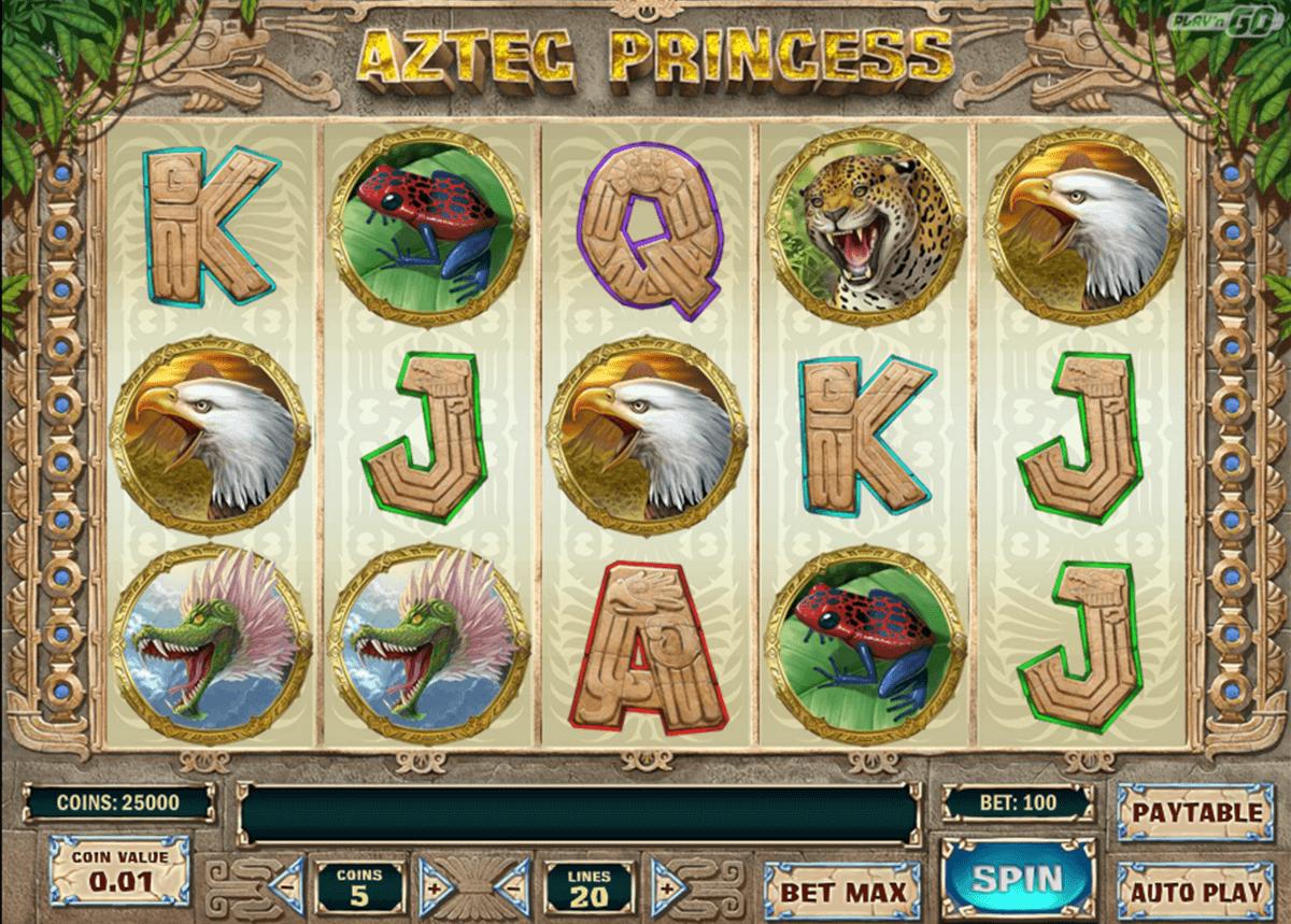 aztec princess playn go