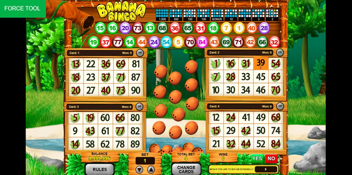 banana bingo caleta gaming