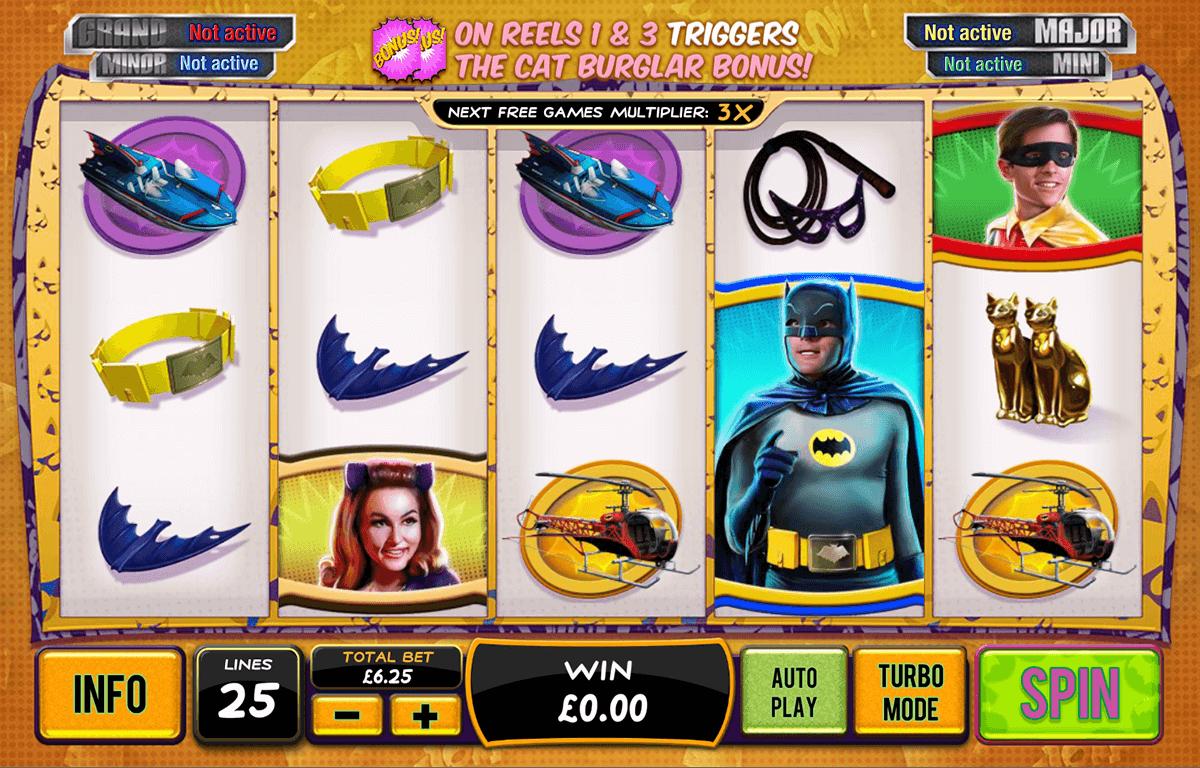 batman catwoman cash playtech