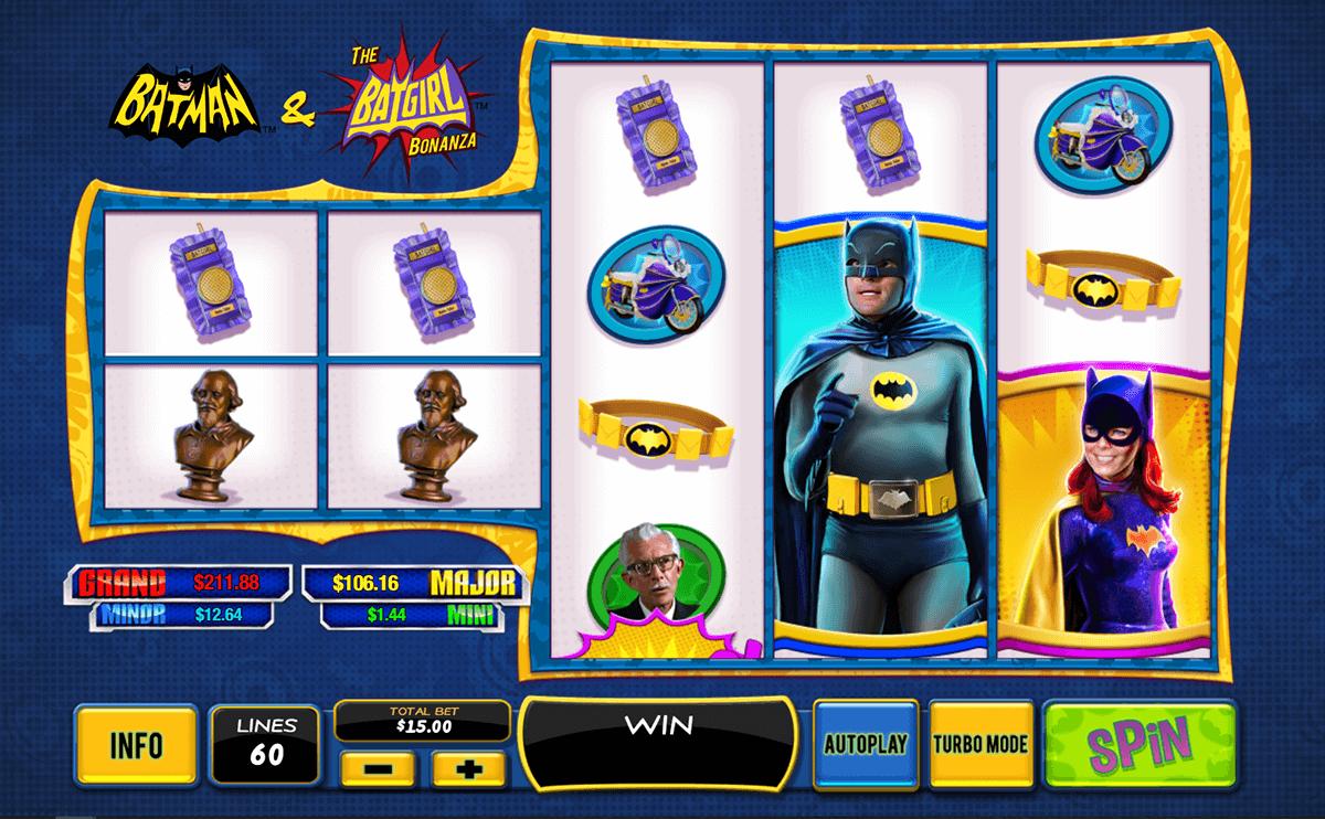 batman the batgirl bonanza playtech