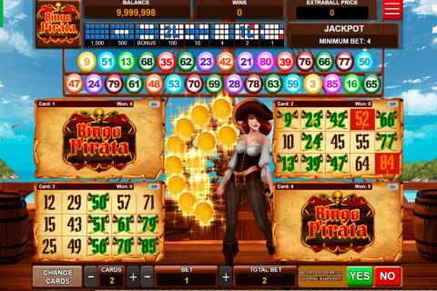 bingo pirata caleta gaming