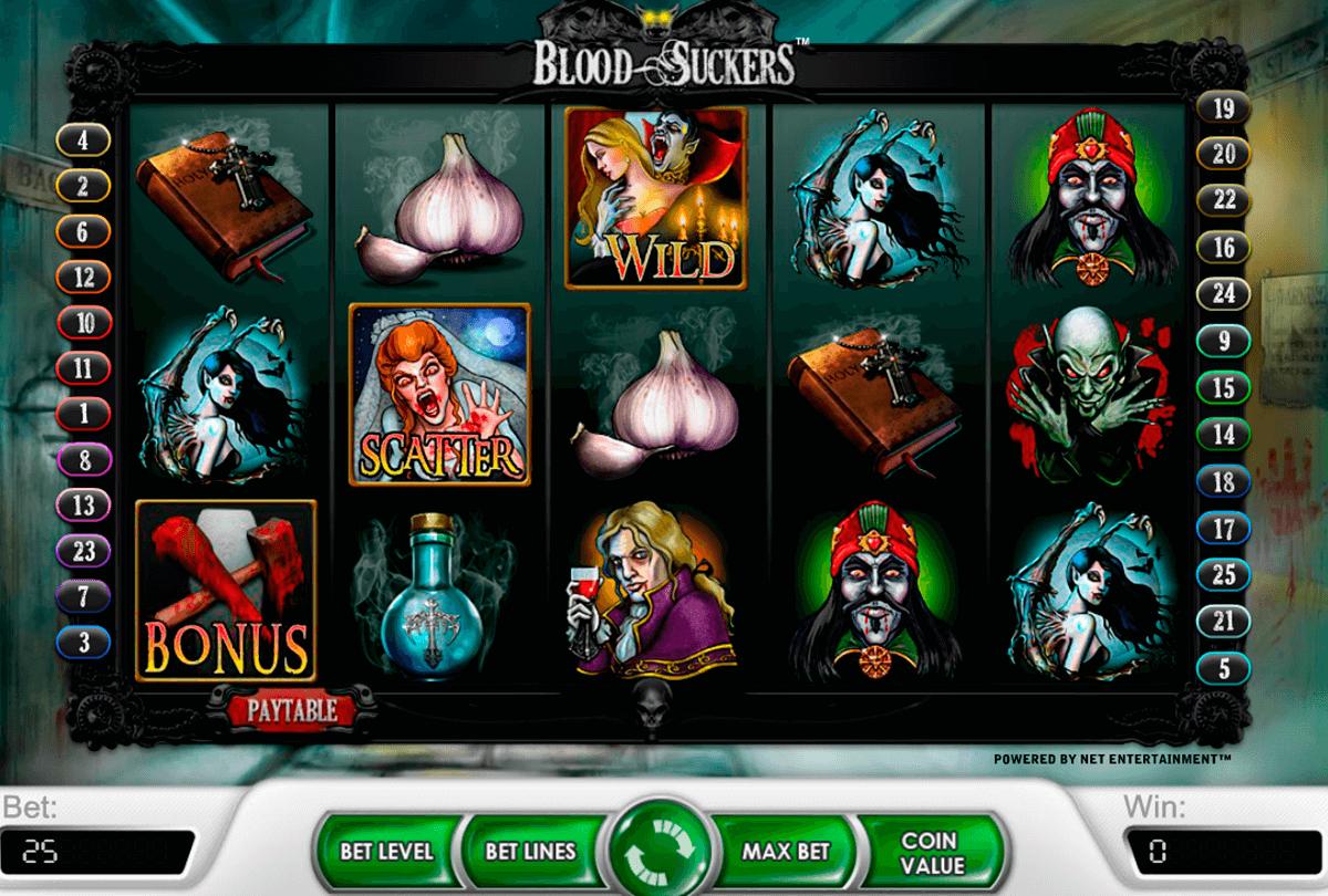 blood suckers netent