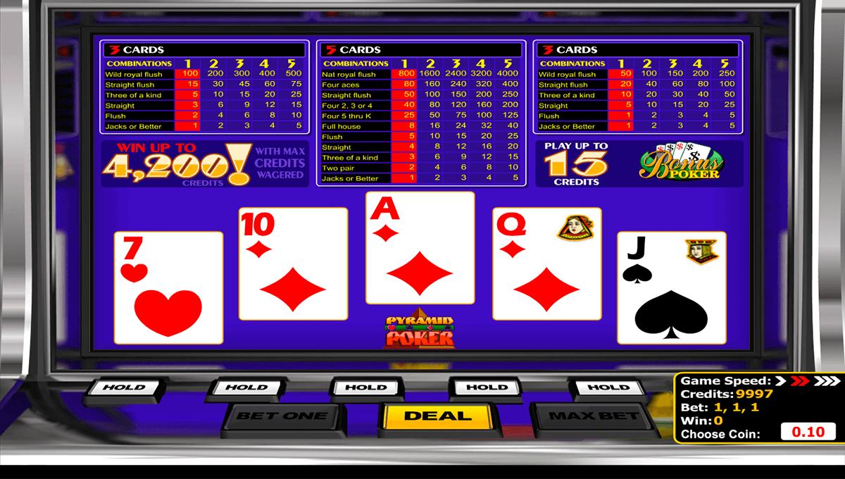 bonus poker betsoft