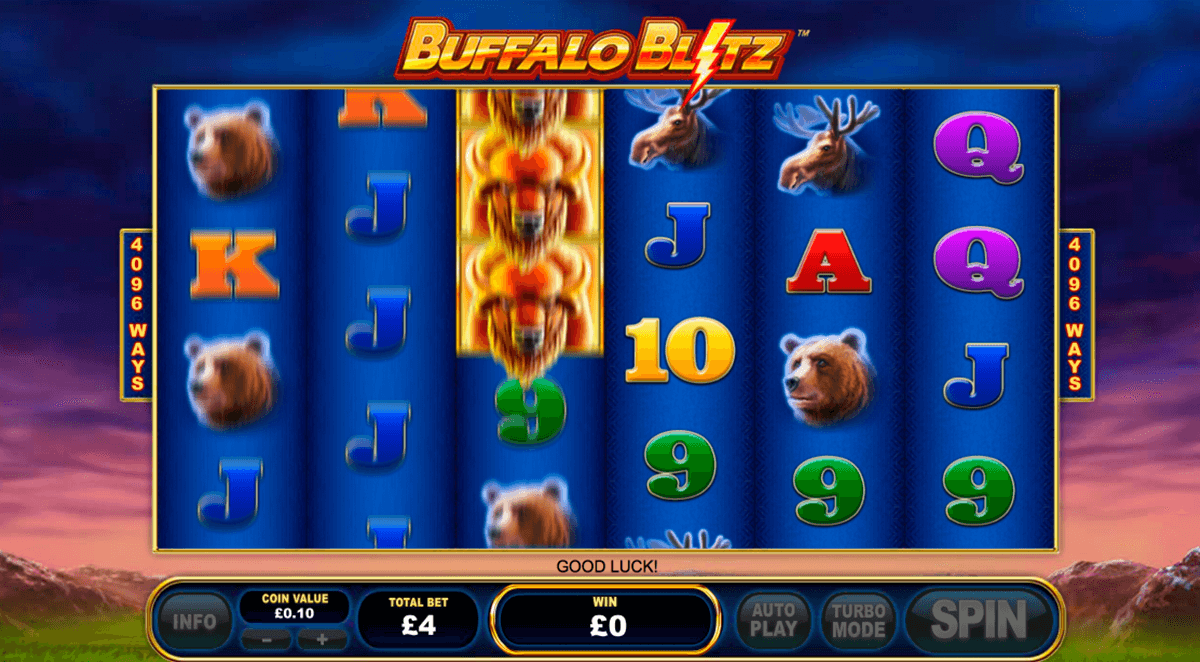 buffalo blitz playtech