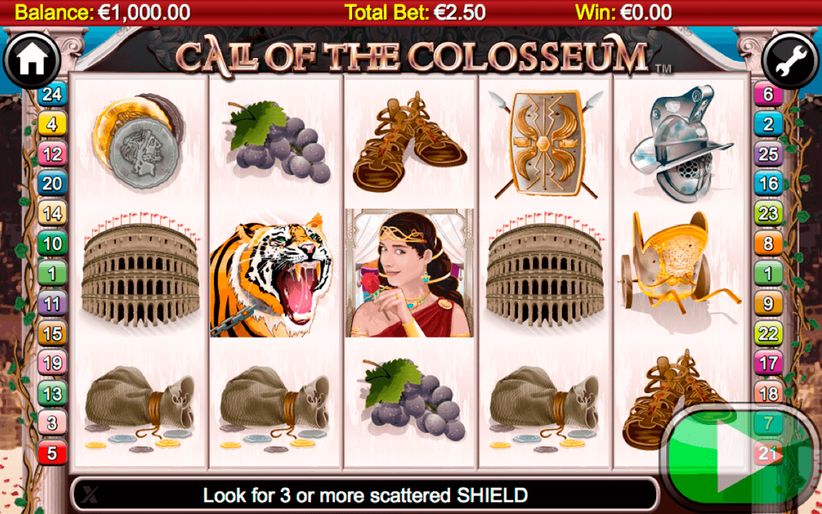 call of the colosseum netgen gaming