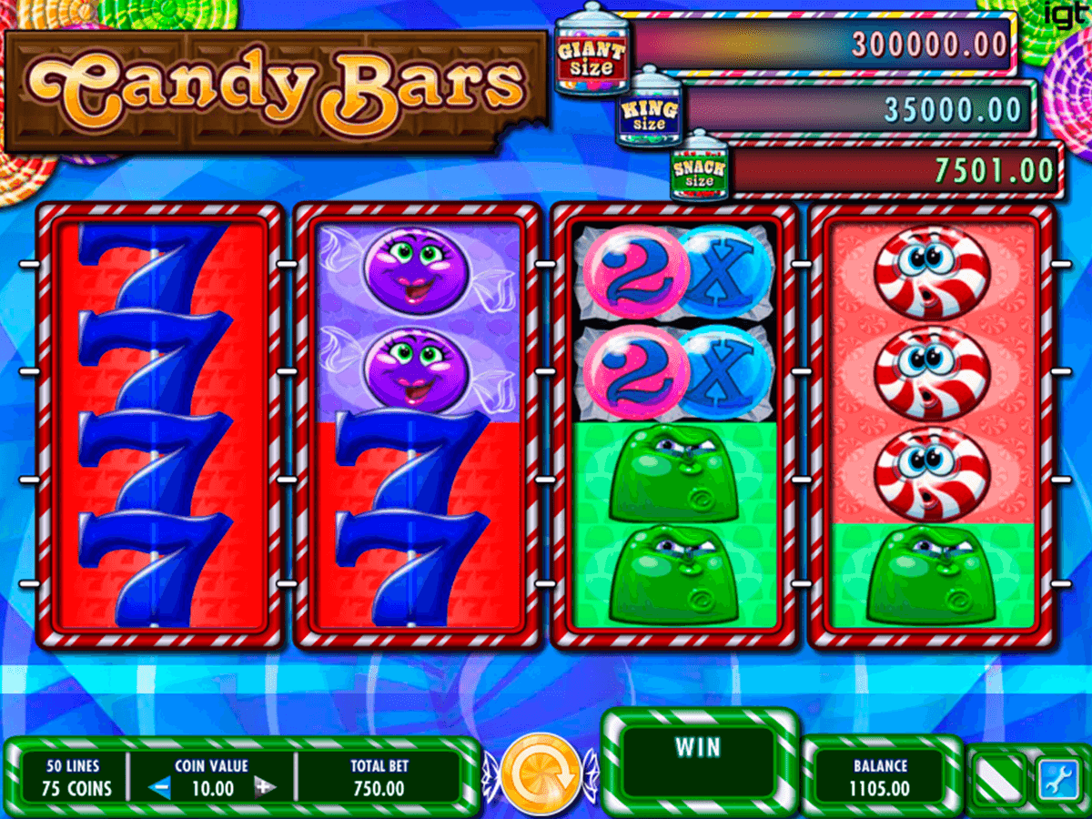 candy bars igt