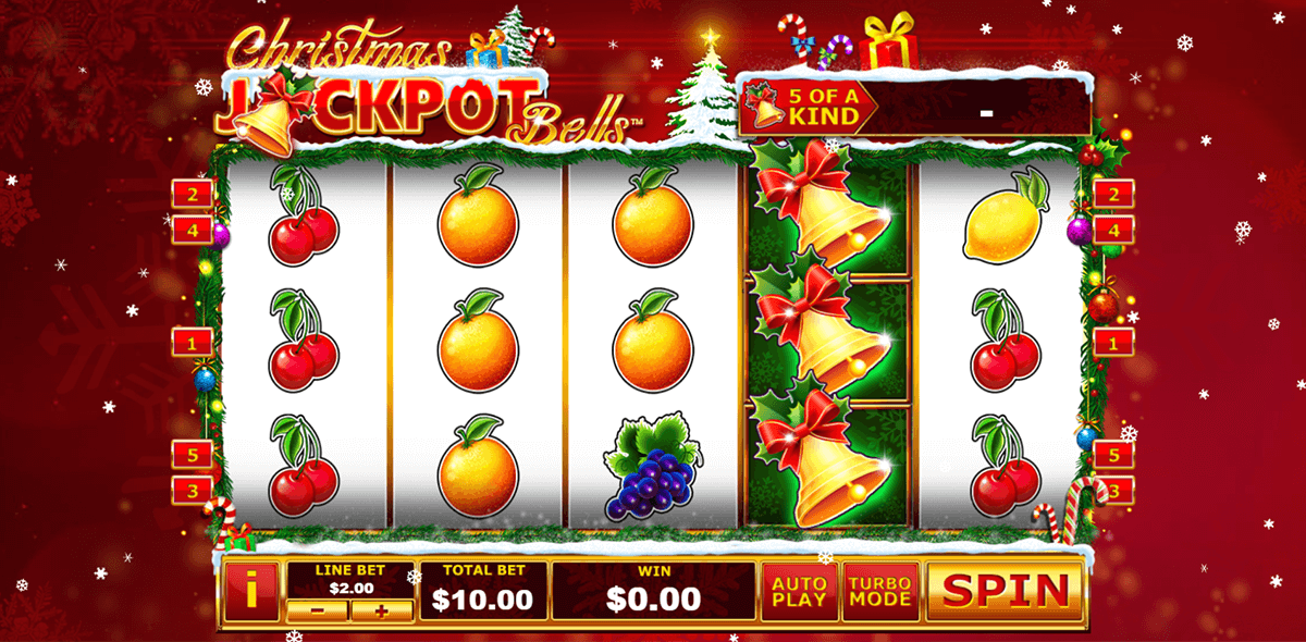 christmas jackpot bells playtech