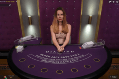 diamond vip live blackjack evolution gaming