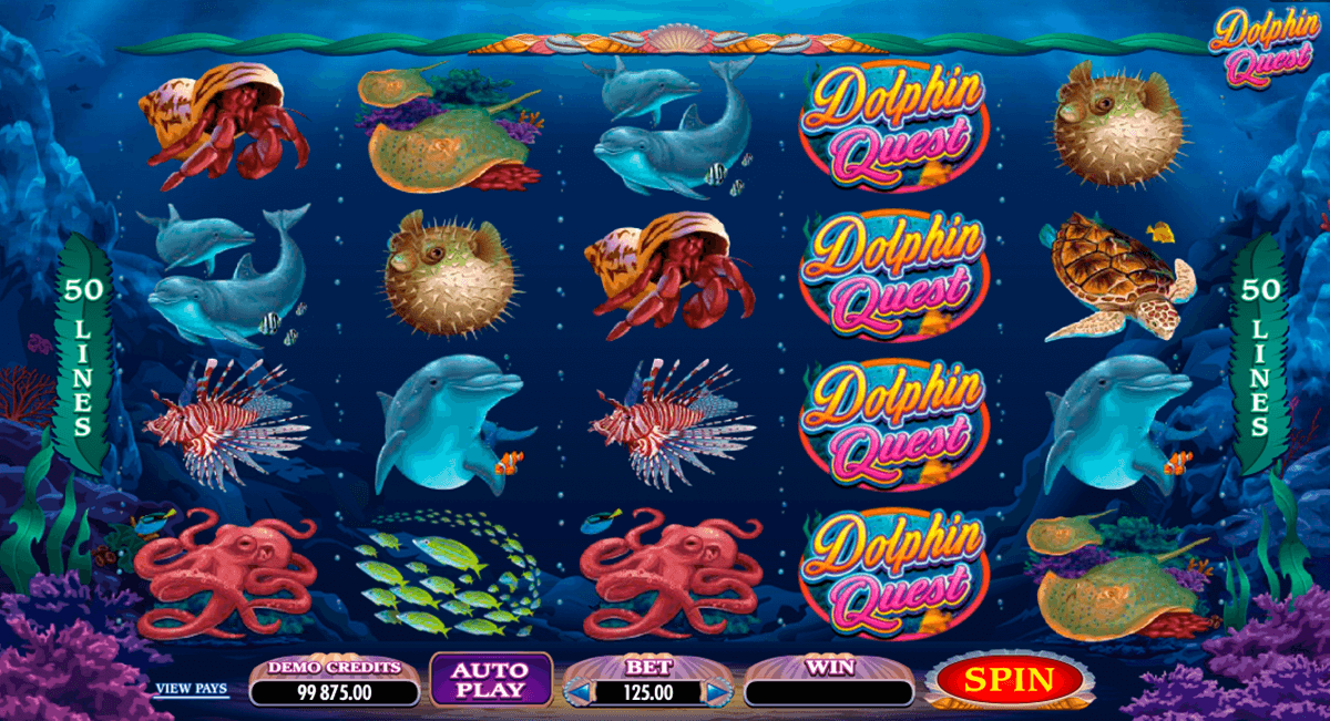 dolphin quest microgaming