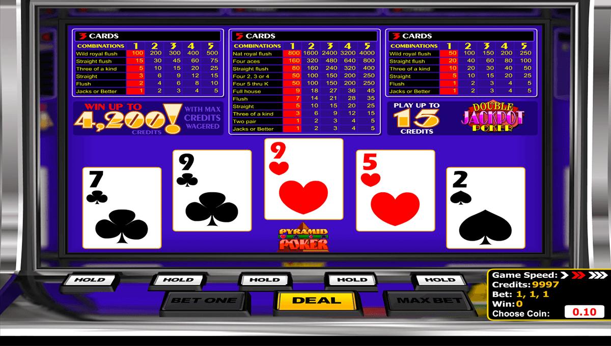 double jackpot poker betsoft
