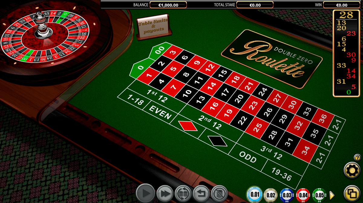 double zero roulette netgen gaming