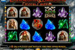 dungeons and dragons crystal caverns igt