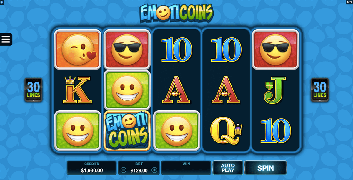 emoticoins microgaming