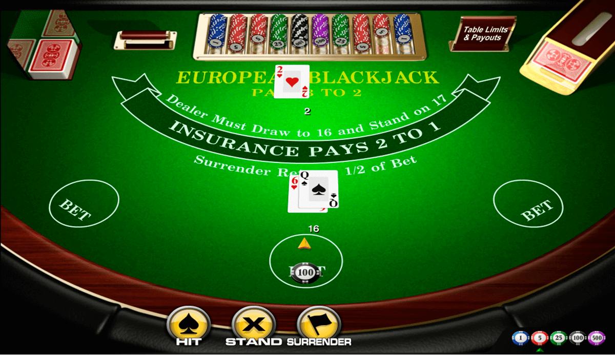 european blackjack amaya