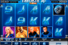 fantastic four  lines playtech