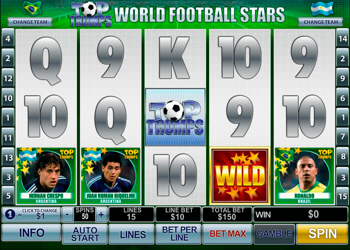 football stars playtech