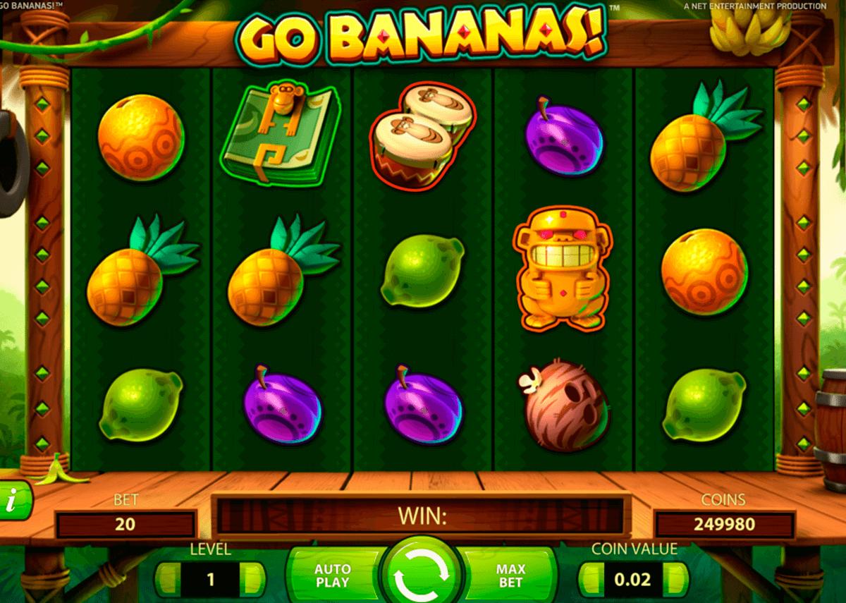 go bananas netent