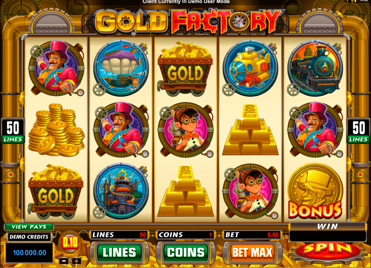gold factory microgaming