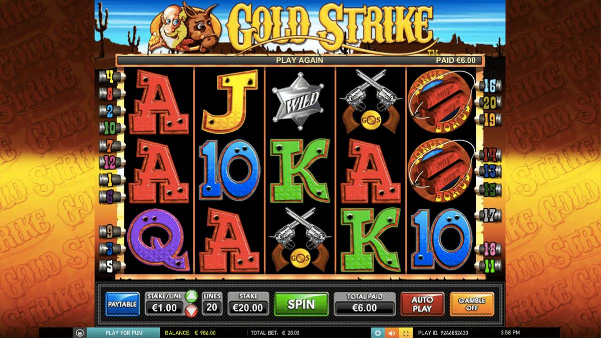 gold strike leander