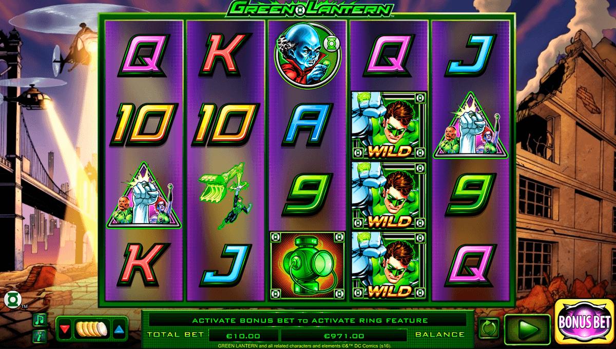 green lantern netgen gaming