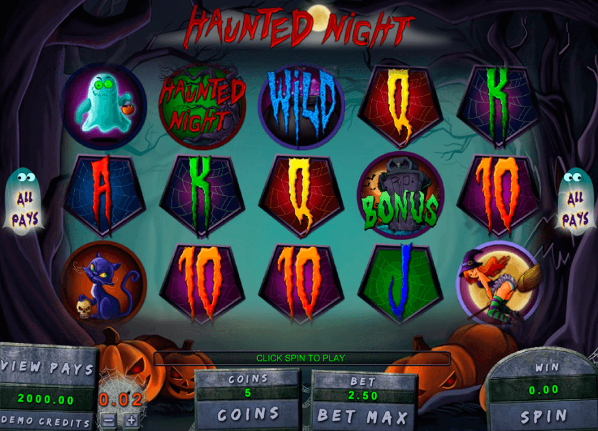 haunted night genesis