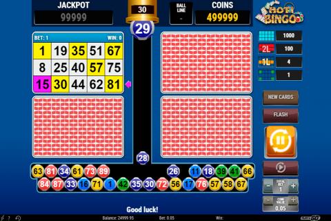 hot bingo playn go