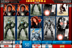 iron man   lines playtech
