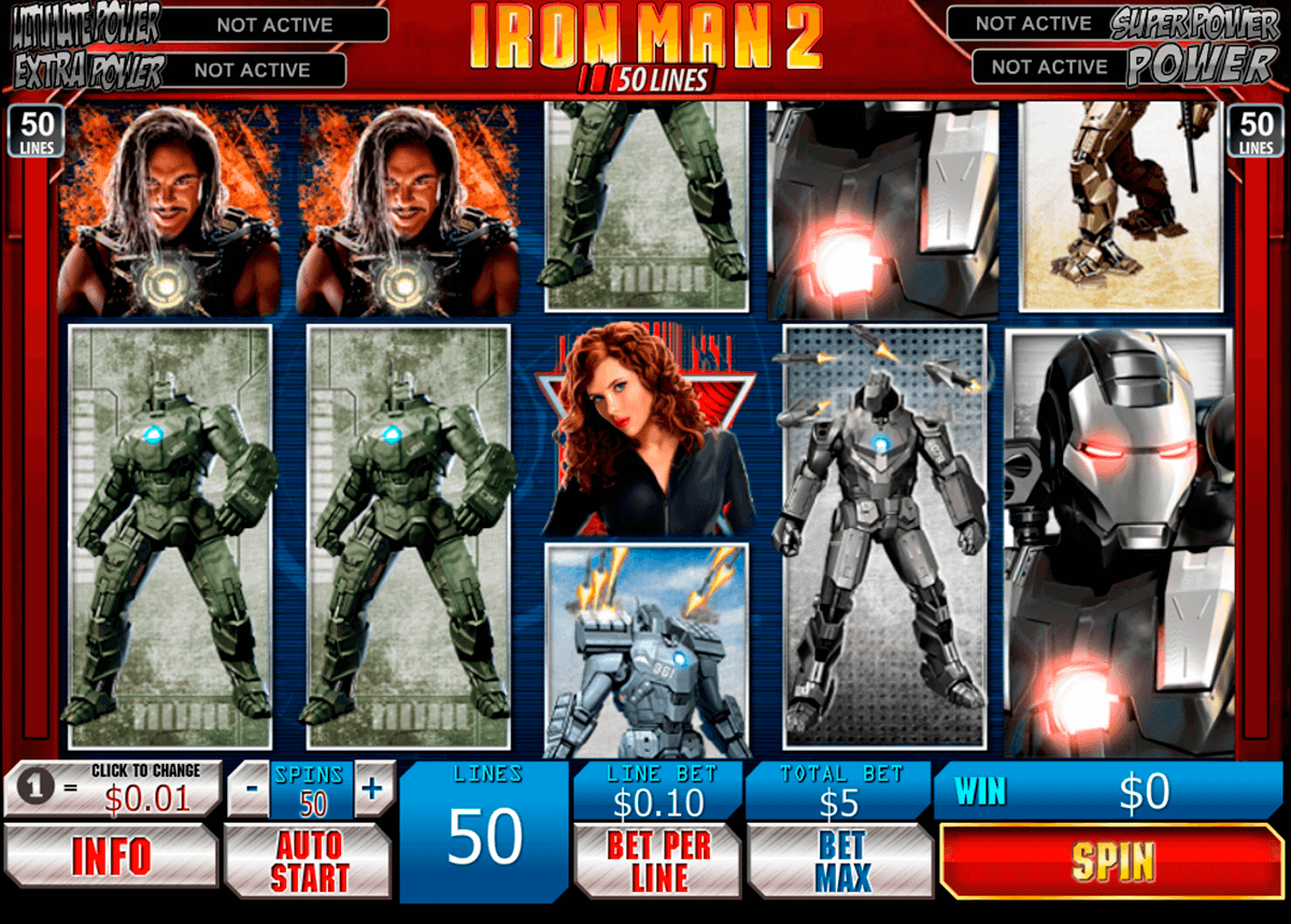 iron man   lines playtech
