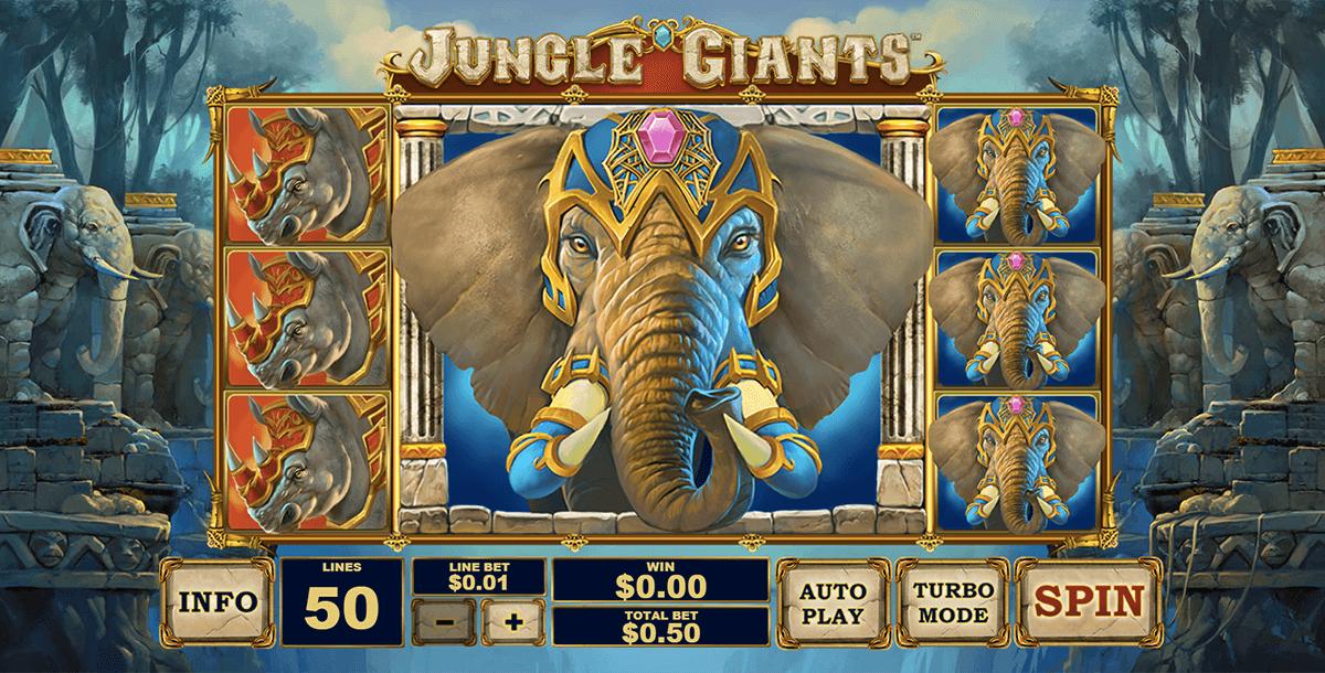 jungle giants playtech