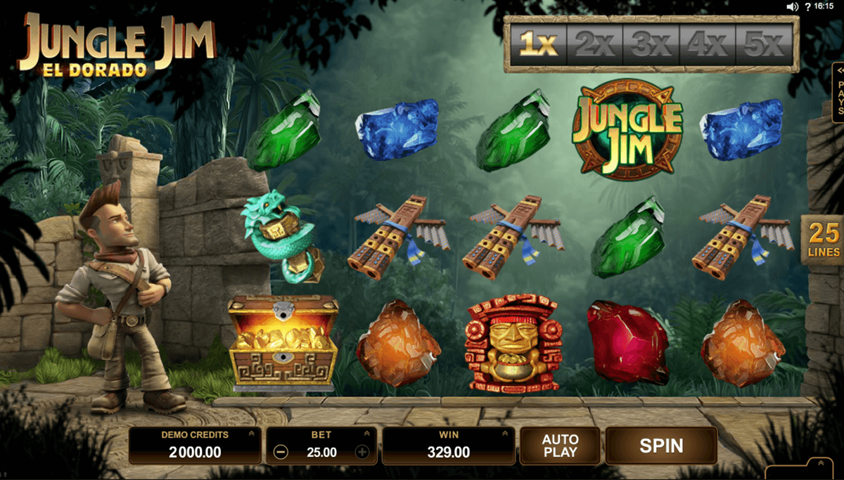 jungle jim el dorado microgaming