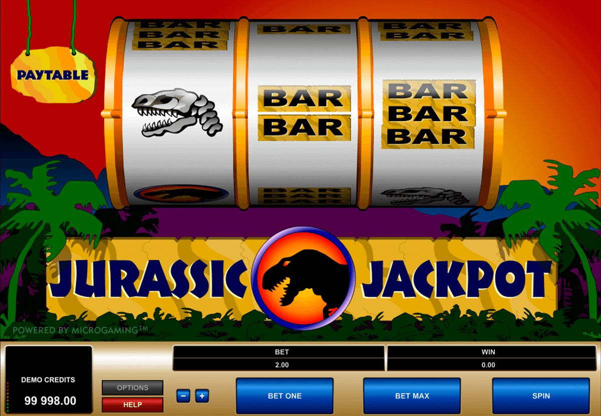 jurassic jackpot microgaming