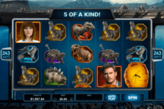 jurassic world microgaming