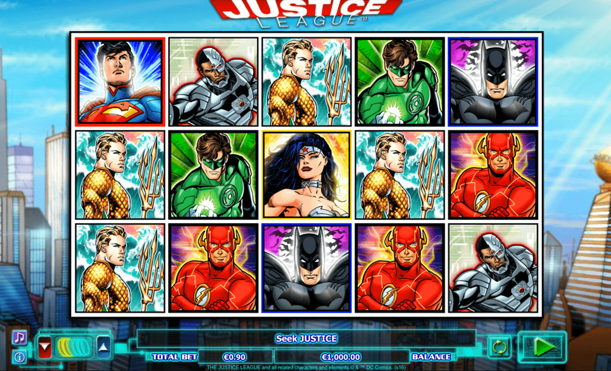 justice league netgen gaming