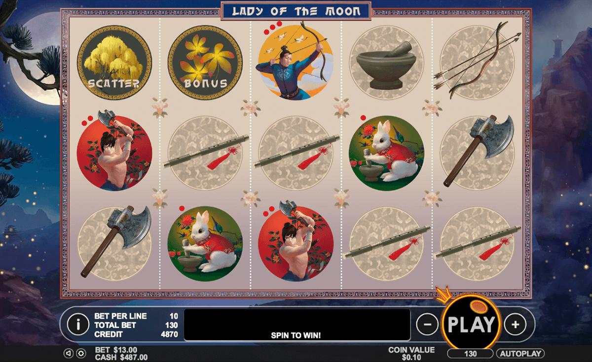 lady of the moon pragmatic