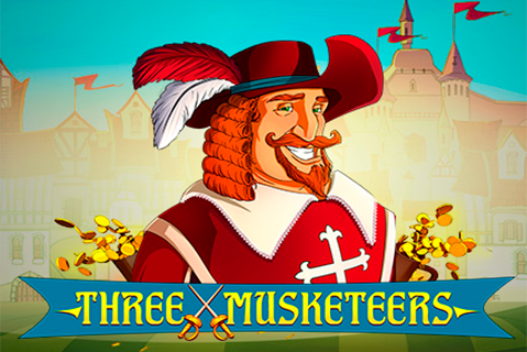 logo three musketeers red tiger