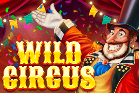 logo wild circus red tiger