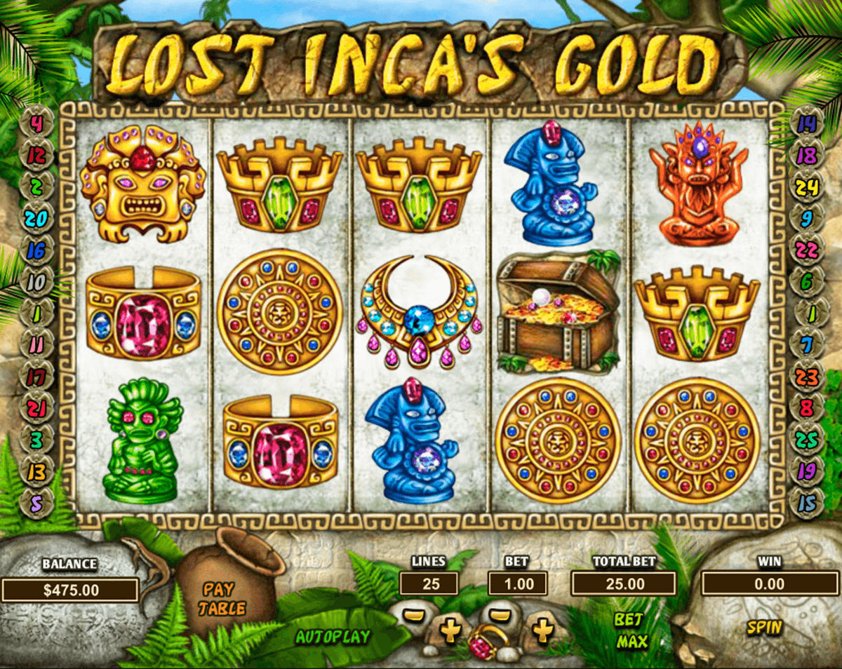 lost inca s gold pragmatic