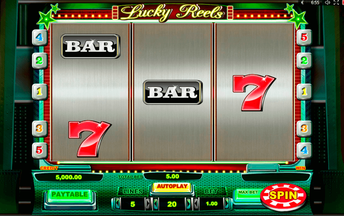 lucky reels playson