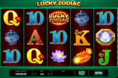 lucky zodiac microgaming