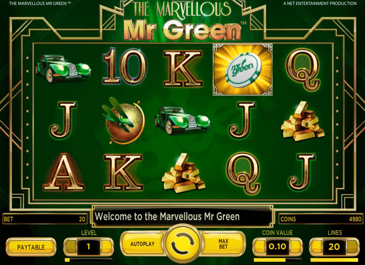 marvellous mr green netent
