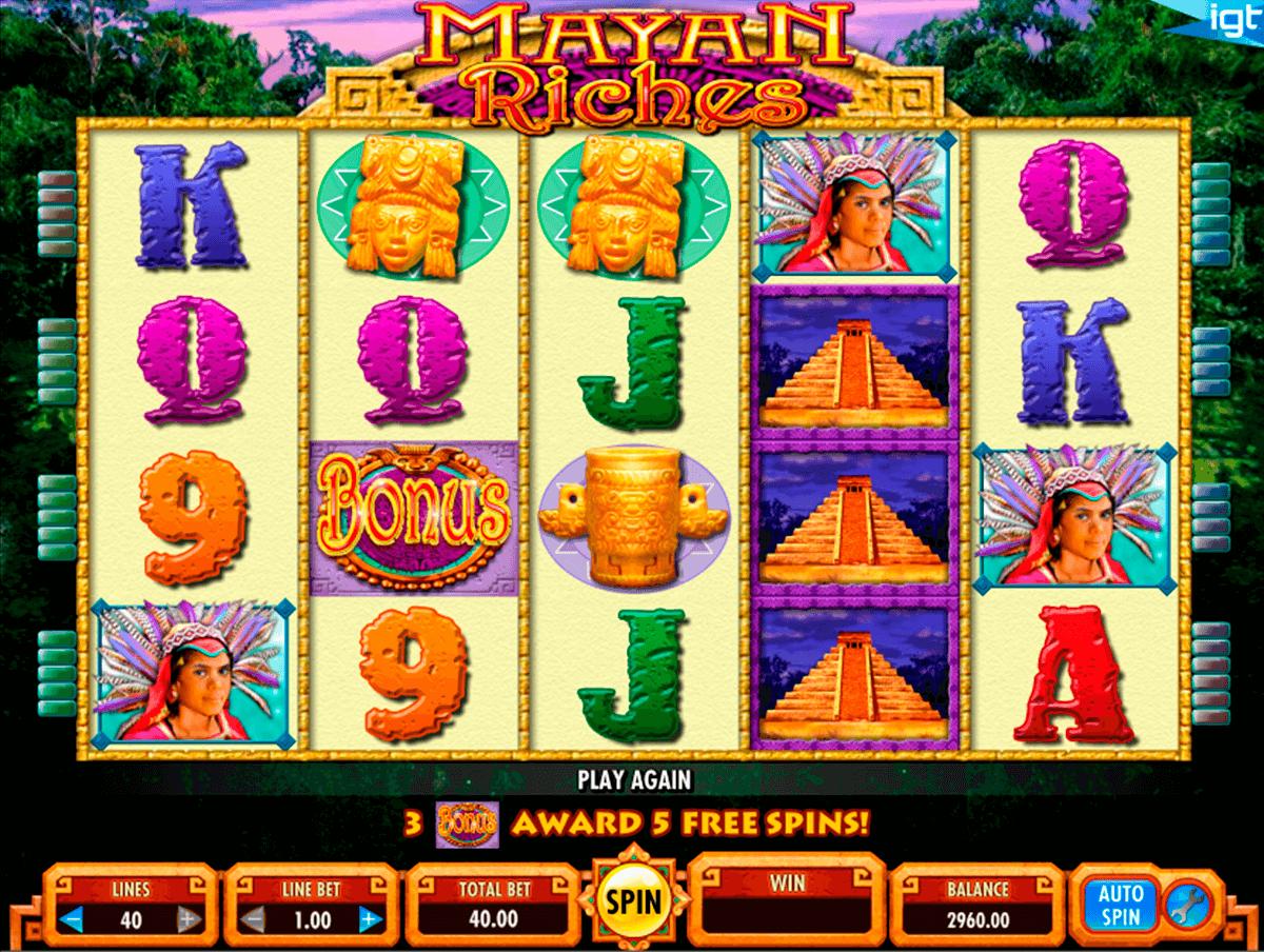 mayan riches igt