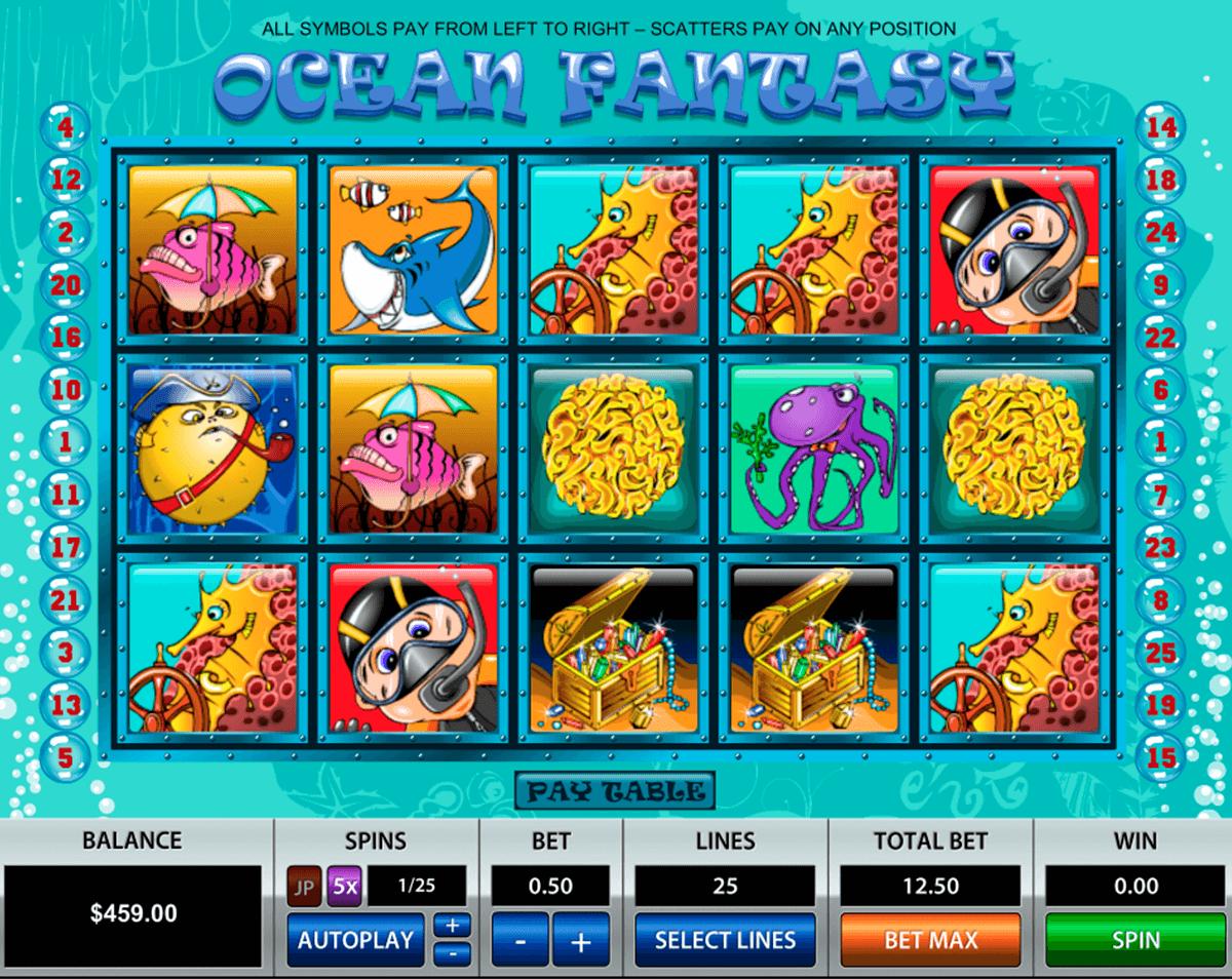 ocean fantasy pragmatic