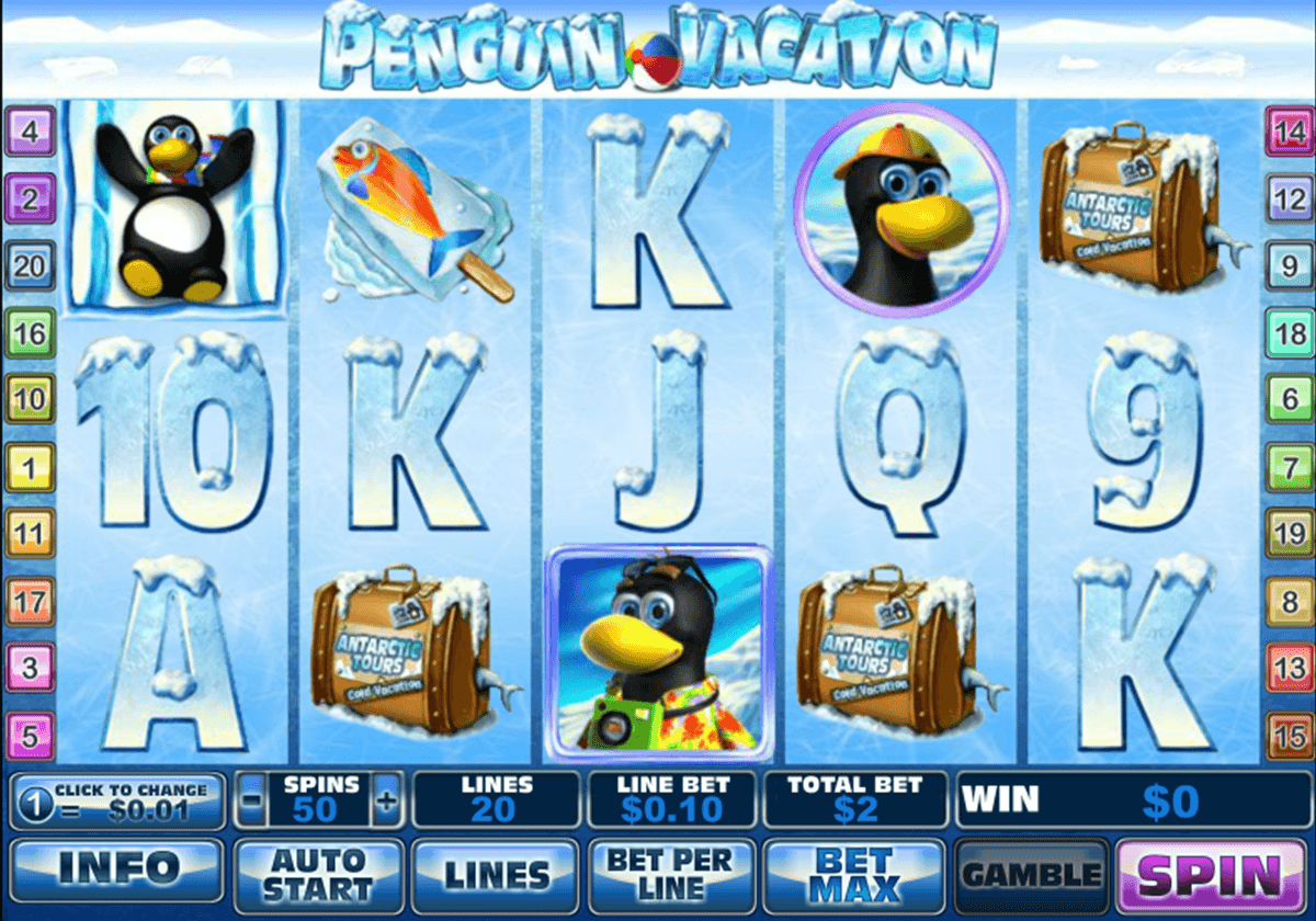 penguin vacation playtech
