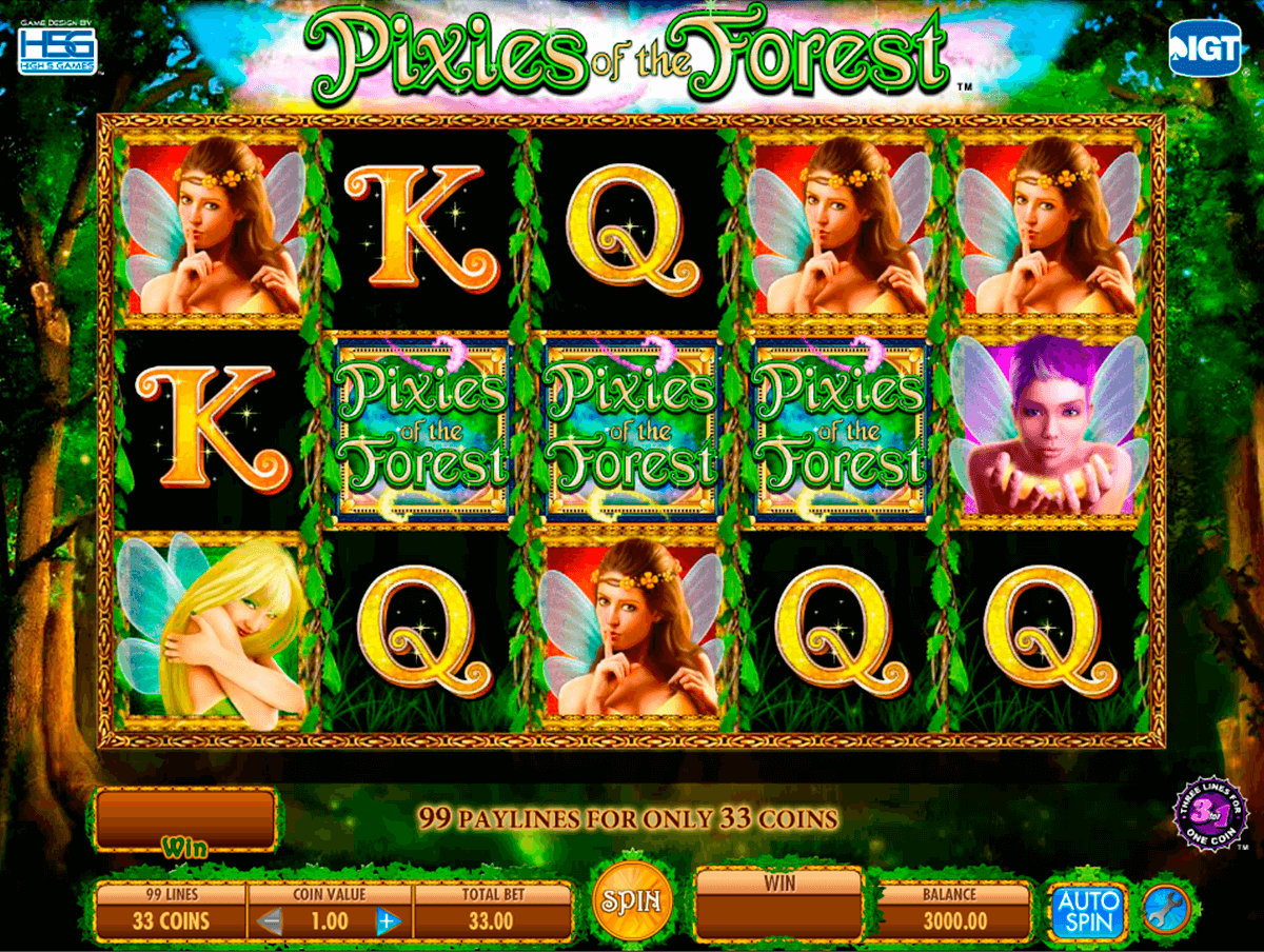 piies of the forest igt
